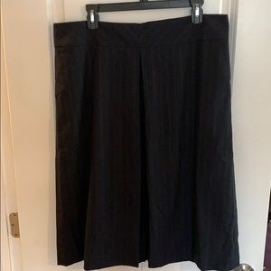 Banana Republic pinstripe skirt size 14